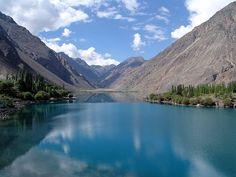 Image result for satpara lake