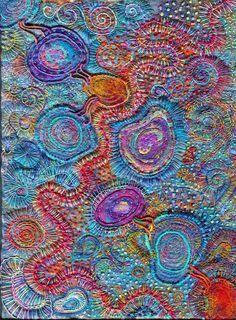 Aventures Textiles: Expression libre
