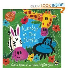 Rumble in the Jungle: Amazon.co.uk: Giles Andreae, David Wojtowycz: Books