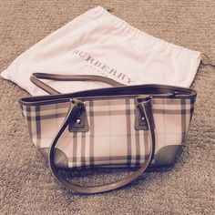 e53565761c1e Authentic Burberry Candy (Pink) Check Bag This bag is entirely authentic  purchased from the Burberry store at South Coast Plaza (Costa Mesa