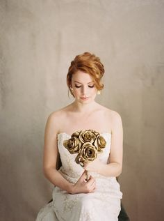 An Exquisite Gold Heirloom Bridal Shoot -