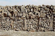 Dry stone wall, Inis Mor, Aran Islands