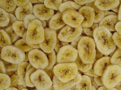 Banana Chips in the oven
