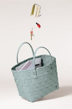 Handed By / Shopper / Greyish Green / Woven