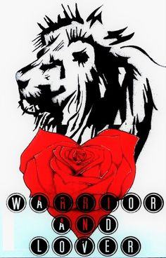 38c23156f Warrior and lover tattoo design #tattoodesign #tattoo #liontattoo #design  #art #