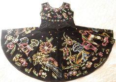 SALE Vintage Halloween Costume  Black Velvet 1950's by JackpotJen, $95.00