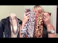 Besty Jansey shows us lots of ways to wear scarves with your Premier Jewelry! Around 6 min.