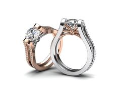 Představuji vám moderní zásnubní prsten, který je oproti tradicím osazen větším počtem kamenů. Design šperku nemusí sedět všem, ale snažím se vymýšlet originální prsteny, které se vzhledem vymykají klasické tvorbě. Líbí se vám tvar a větší počet kamenů, nebo jste spíše konzervativnější a zásnubní prsten by podle vás měl být osazen pouze jedním kamenem? www.korbicka.com