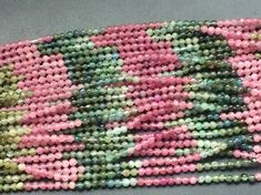 WHOLESALE 5 Strands Multi Tourmaline Beads Multi by gemsforjewels