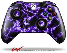 Electrify Purple  Decal Style Skin fits Microsoft XBOX One Wireless Controller CONTROLLER NOT INCLUDED ** Visit the image link more details. Note:It is affiliate link to Amazon.