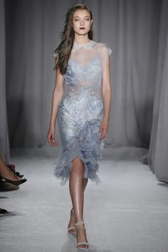 The Marchesa Spring 2014 RTW Collection is Slinky, Stunning, and Perfect