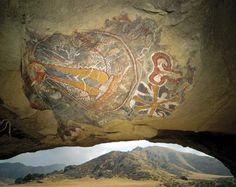 Chumash: Chumash cave painting