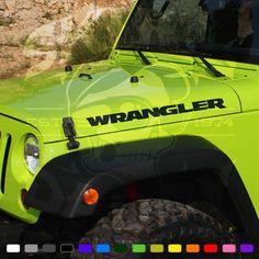 Jeep Wrangler BLACK BEAR Edition Stickers Vinyl Graphics Decals JK New 2015 2016 #SkullDaddyGraphics