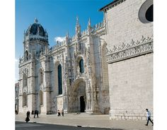 Three Perfect Days: Lisbon | by Chris Wright, for United Hemispheres Magazine @hemispheresmag May 2012, @United Airlines' Inflight Magazine Photo: The grand Jerónimos Monastery in Belém, by Pedro Guimaraes #Portugal