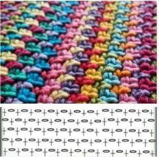 Crochet ideas that you'll love Crochet Diy, Crochet Motifs, Crochet Diagram, Crochet Stitches Patterns, Crochet Chart, Crochet For Kids, Crochet Designs, Stitch Patterns, Knitting Patterns