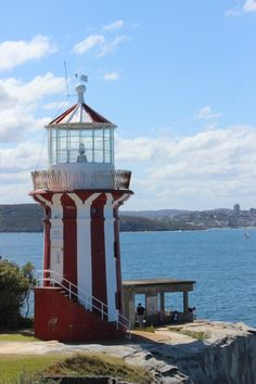 Hornby Light in Sydney via The World on my Necklace