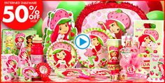 Strawberry Shortcake Party Supplies - Strawberry Shortcake Birthday - Party City