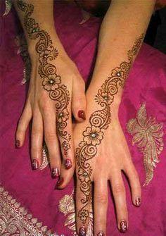I love henna ! Arabic Mehndi Designs, Mehndi Patterns, Latest Mehndi Designs, Mehndi Art, Mehandi Designs, Henna Mehndi, Indian Henna, Mehendi, Motorcycle Wedding
