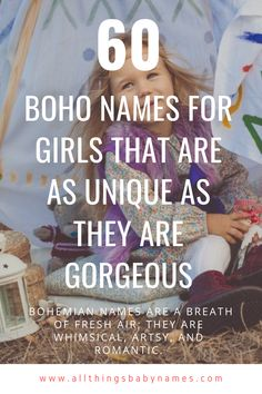 We've got 60 names that are sure to invoke an aura of earthy chicness to last a lifetime. Little Girl Names, Baby Girl Names, Kids And Parenting, Parenting Hacks, Baby Nanes, Uncommon Girl Names, Most Popular Names, Baby Name List