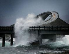 Atlantic Ocean Road I would love to drive on that!!!