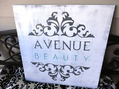 Items similar to Business Sign, Custom Business Advertisement Sign, 2 foot X 2 foot. Vendors, Salons and Craft Shows. on Etsy