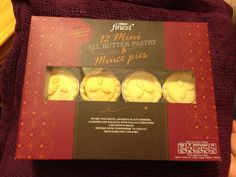 Tesco Finest mince pies - These all butter delights may well be our winner. With just a week and a half to go, these are the clear front runners with perfect pastry and fantastic filling - 5 out of 5 all round!