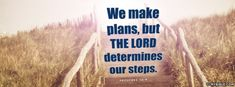 Proverbs 16:9 NKJV - The Lord Determines Our Steps - Facebook Cover Photo
