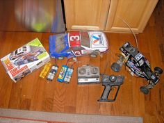 VINTAGE TEAM ASSOCIATED RC10L RC 2 PAN CARS AND PARTS #TeamAssociated