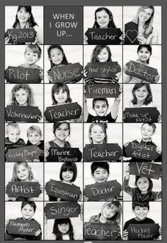 Pinterest: photos de classe