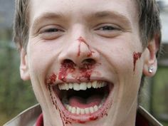If you don't think James was having the time of his life, you're wrong. Despite being covered in blood, he was laughing his ass off. Fist fights were always fun, especially when no one saw his face, he got to leave a dead body, and he ran before the police could come. And run he did. Honestly, James hadn't moved that fast in a while. No need, when you aren't killing anybody. But this time /they/ were bored out of their minds, and he was itching to punch the lights out of someone. [Pt. 1]