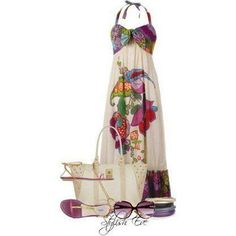 aloha! hawaiian dress. perfect for a luau and being lei'd with flowers...
