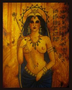 Ishtar - Mistress of the Gods.