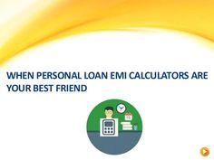 Personal Loan EMI Calculator - Calculate #EMI in 2 Mins