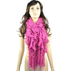 Funky Style with Unique Design 100% Acrylic Material Red Scarves for Women.nl-1782a by Jewellerygets Scarf, http://www.amazon.com/dp/B0086TQQZU/ref=cm_sw_r_pi_dp_1tKarb14XPJJZ