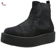 TUK Shoes , Bottes Chelsea femme - Noir - noir, - Chaussures tuk (*Partner-Link)