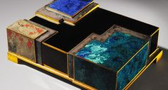 Art Deco objects from Jean Dunand, Jean Goulden, Ruhlmann and more at Kelly Gallery