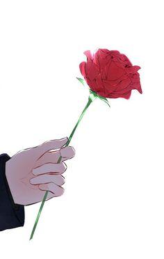 Manga Art, Anime Art, Tumblr Flower, Anime Flower, Simple Anime, Anime Muslim, Couple Wallpaper, Estilo Anime, Poster S