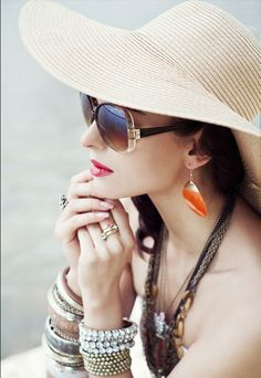 summertime look...ready for the beach or pool ;)