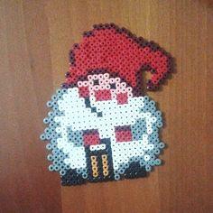 Christmas elf hama beads by  pyssla_life
