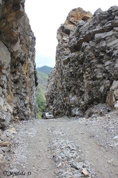 The Road till Chame, Annapurna Circuit Trek, Nepal