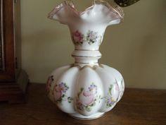 Hand Painted Fenton Fan Vase | Like this item?