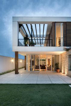 Casa Ceolin by AT Arquitetura 12 Contemporary Gated Community Home Unraveling a Seamless Connection To Outdoors