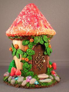 gnome/ fae gingerbread house