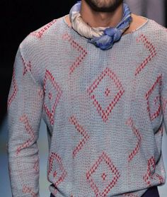 patternprints journal: PRINTS, PATTERNS, TEXTURES AND TEXTILE SURFACES FROM MENSWEAR S/S 2016 COLLECTIONS / MILANO CATWALKS Giorgio Armani