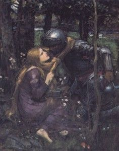 Waterhouse, the Lady Without Mercy, or as I prefer to think of it, The Romance of a Knight In Shining Armor.