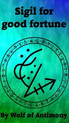 Sigil for good fortune