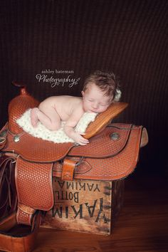 Kennewick, WA Newborn Photographer - cowboy
