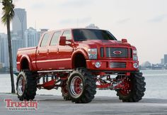2010 Ford F-250.  Might be overkill, but its cool.