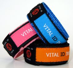 Vital ID - great idea when traveling (I'm thinking for Disney!)