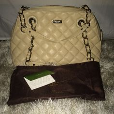 Last Chance!! 💕✨HP✨💕9.5 Kate Spade Georgina NWT New with tags Kate Spade Georgina handbag in Cashew color. Comes with tags and dustbag. Classic styled bag. kate spade Bags